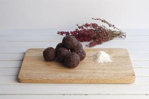 Lamington Cacao y Coco
