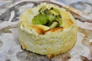 Individual de queso y te verde (sin gluten)