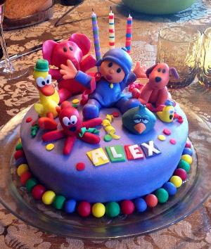 Tartas de cumpleaños decoradas
