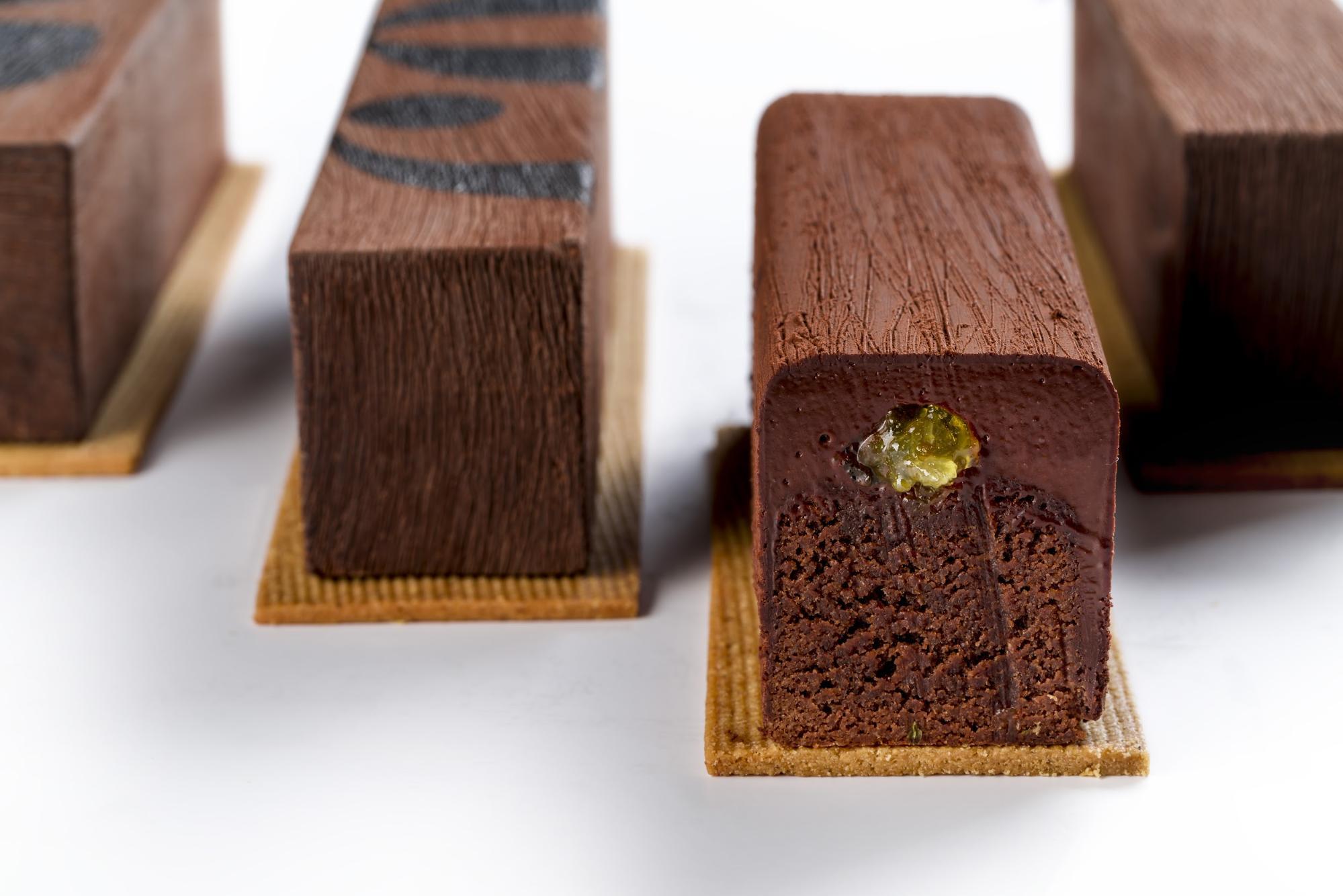 Cake de chocolate Haití con ron, piña y lima - Ramón Morató