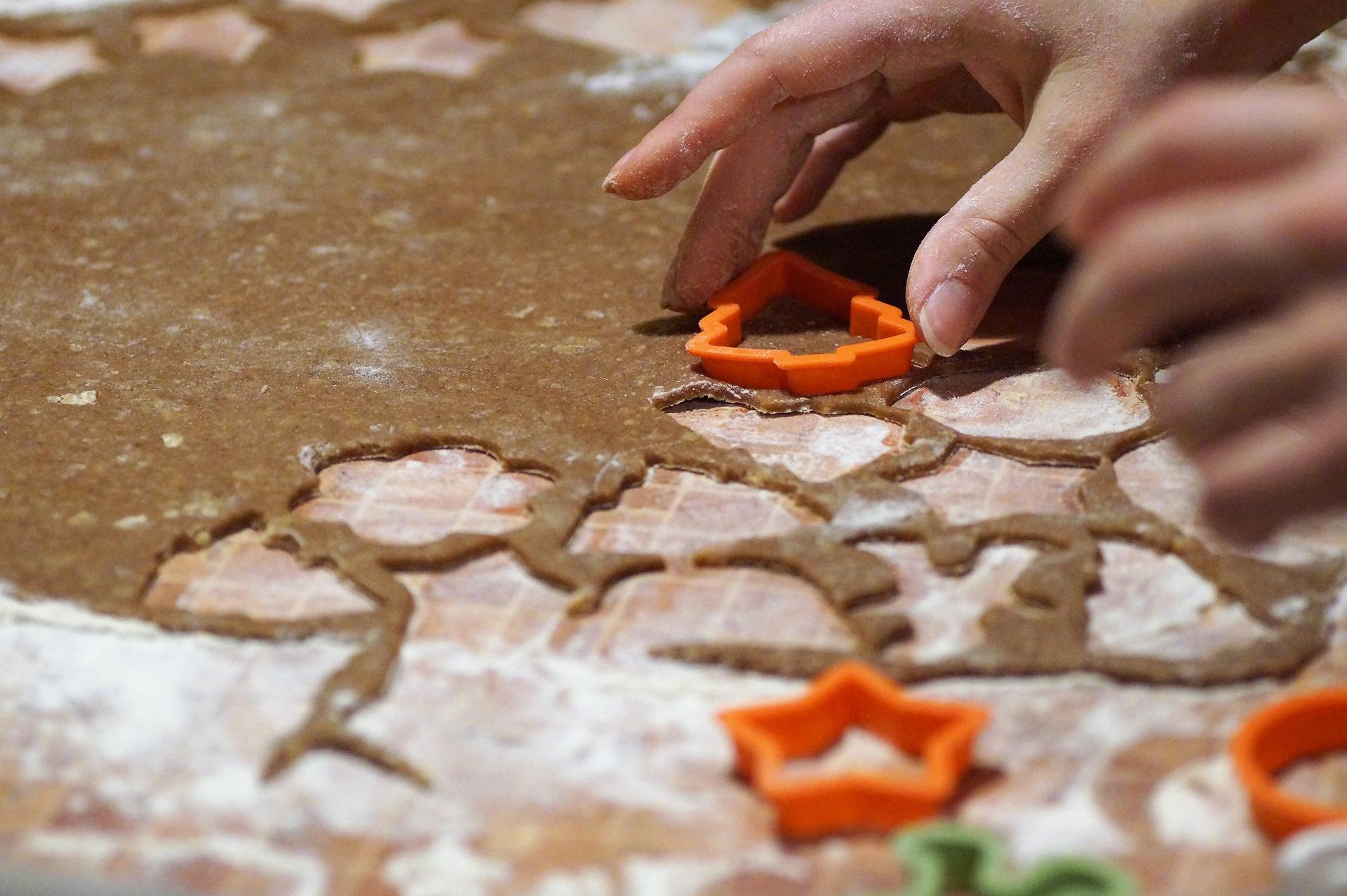 molde para hacer arbolitos de galletas de jengibre