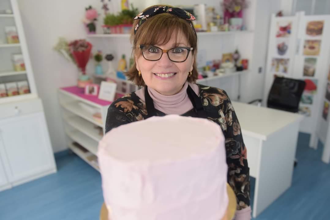 Ligia María Betti, propietaria y pastelera de Dulce Madrid