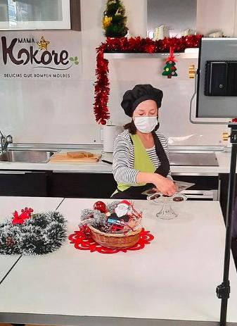 Beatriz Revilla, en su pastelería vegana