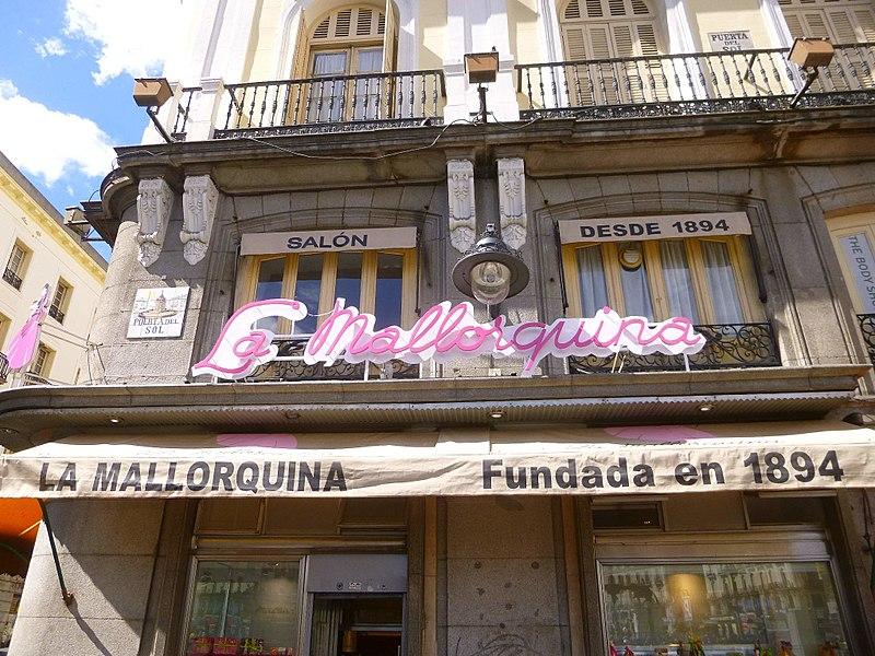 La Mallorquina, pastelería emblemática de Madrid