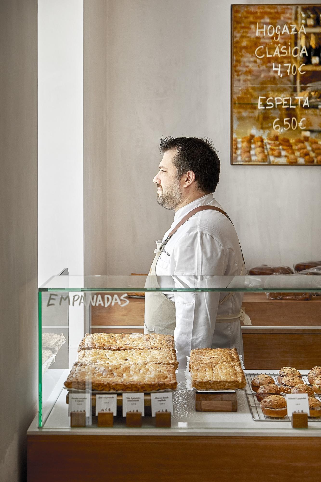 Ricardo Vélez, uno de los pasteleros imprescindibles de Madrid