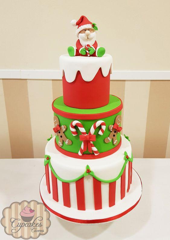 Las tartas navideñas fondant son cada vez más demandadas