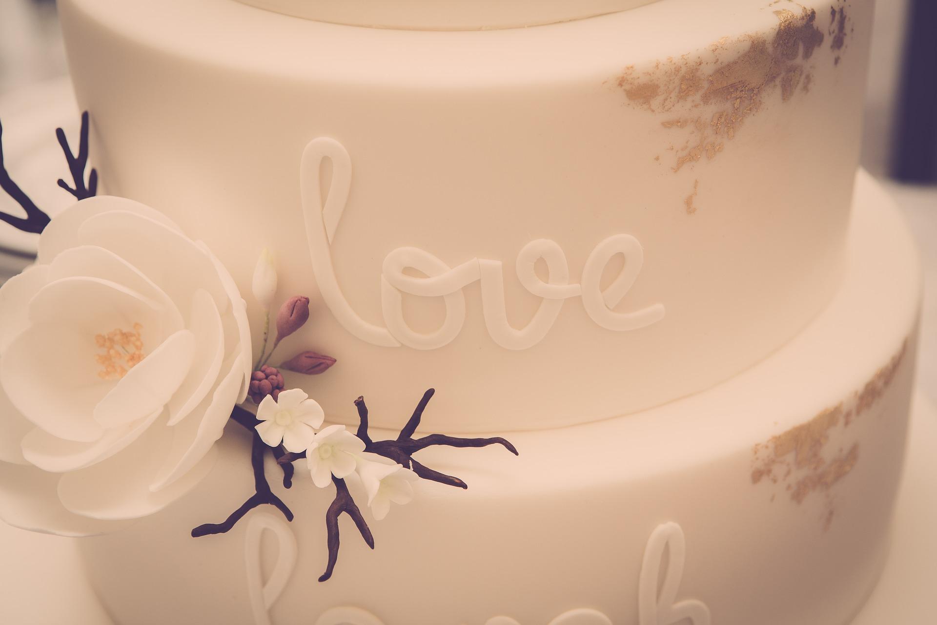 Las tartas más altas suelen ser las de boda
