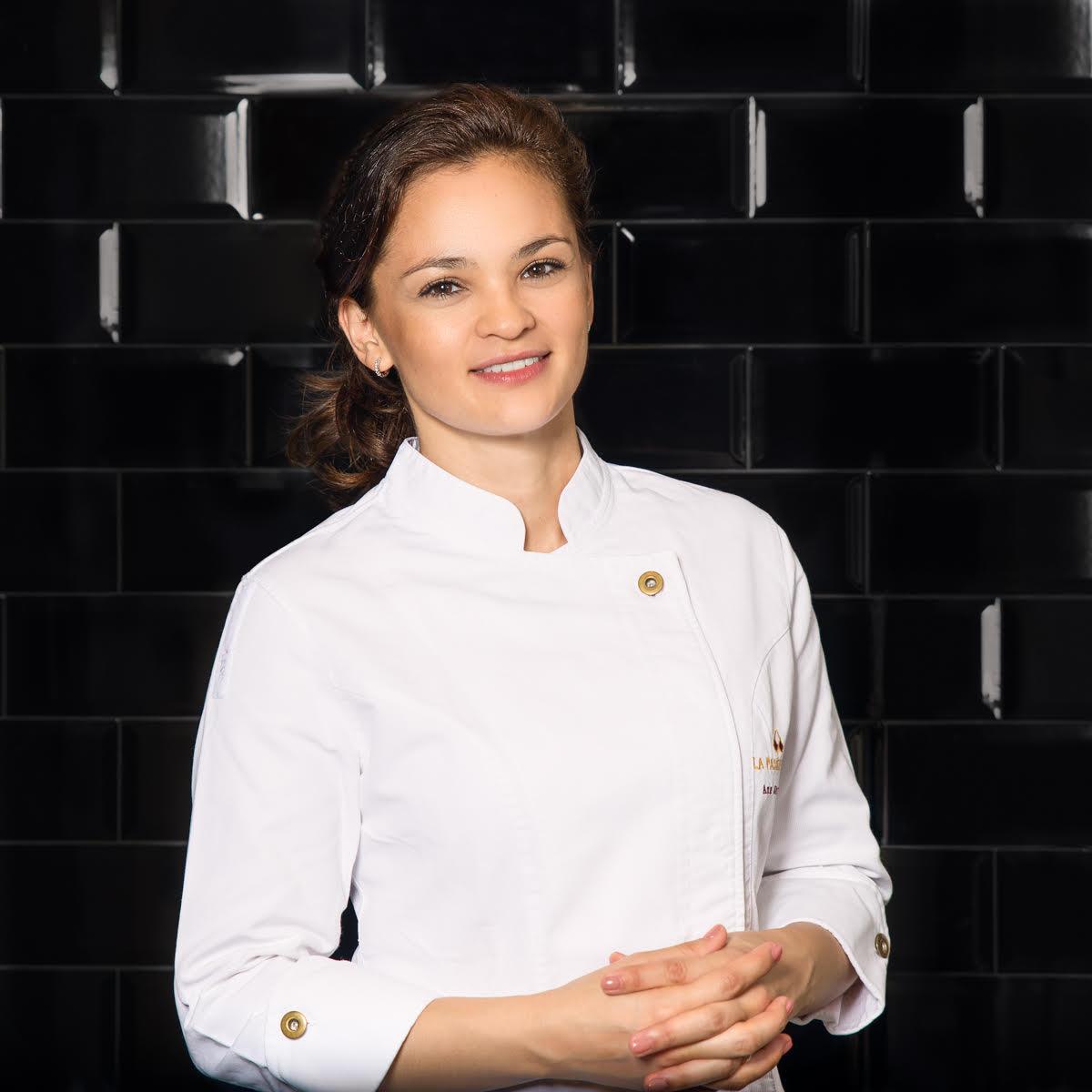 Ana Lucía Jarquin es una de las caras de la nueva pastelería en España