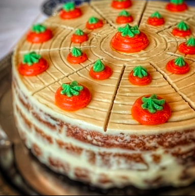 Carrotcake de La Bernarda en Sevilla