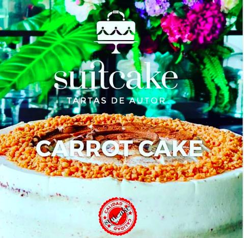 La carrotcake de Suitcake, una de las más famosas en la ciudad de Sevilla