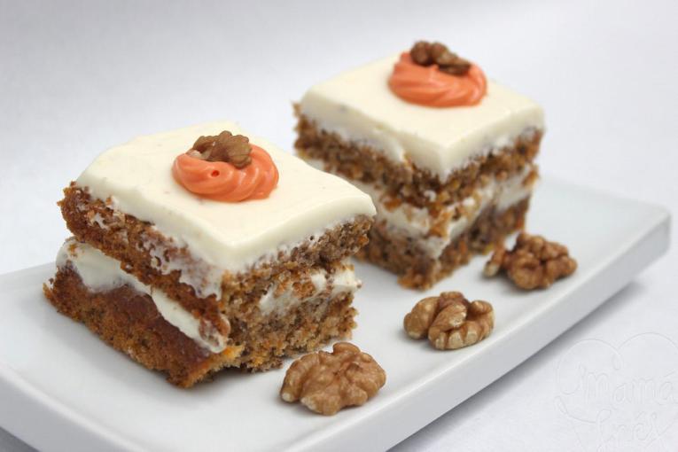 La tarta de zanahoria de Mamá Inés es otra de las imprescindibles de Sevilla