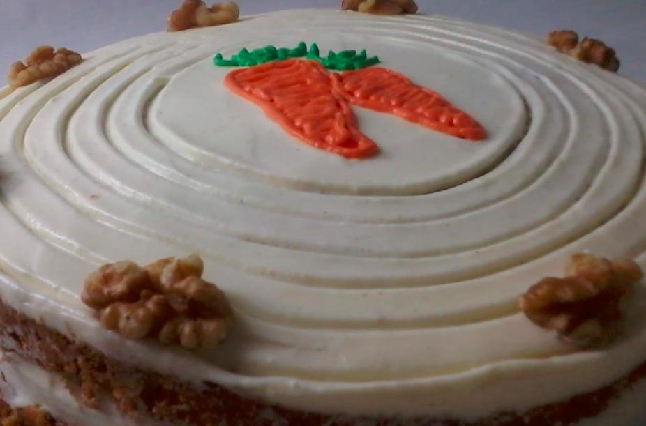 Tarta de zanahoria de Pastelería Mamá Inés