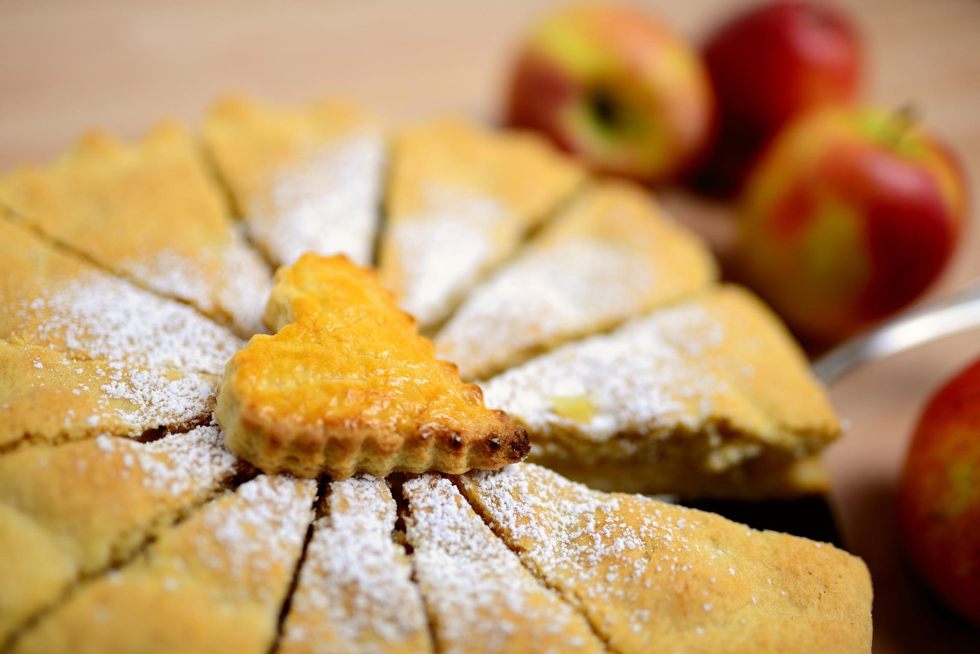 La tarta de manzana es un clásico en repostería