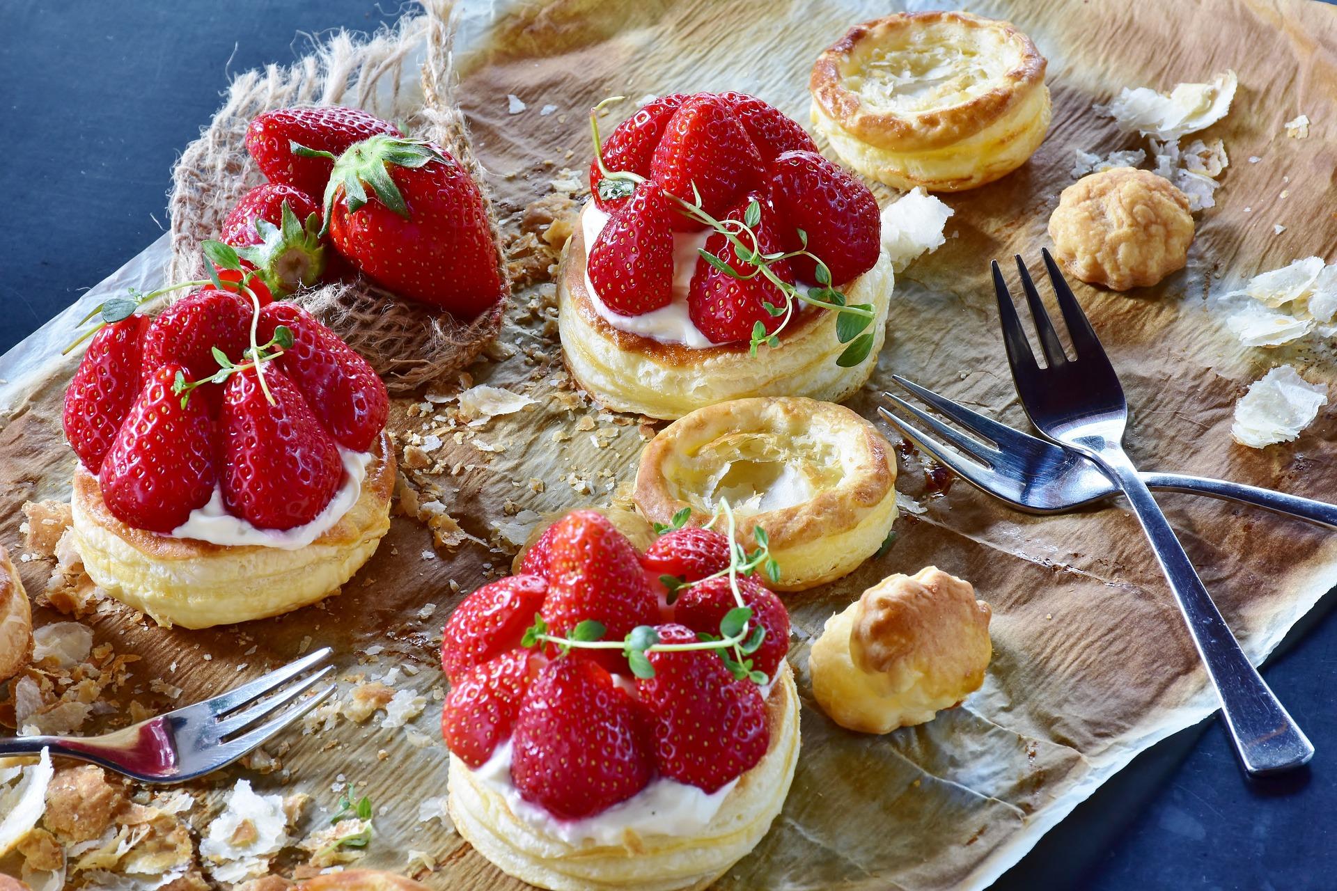 Los pastelitos de hojaldre son uno de los pedidos más demandados en repostería