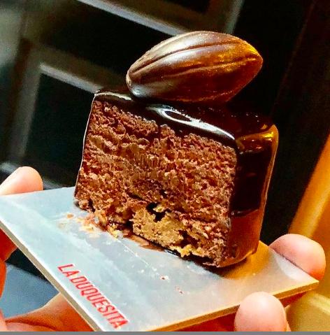 Texturas de Chocolate_ mousse_ La Duquesita