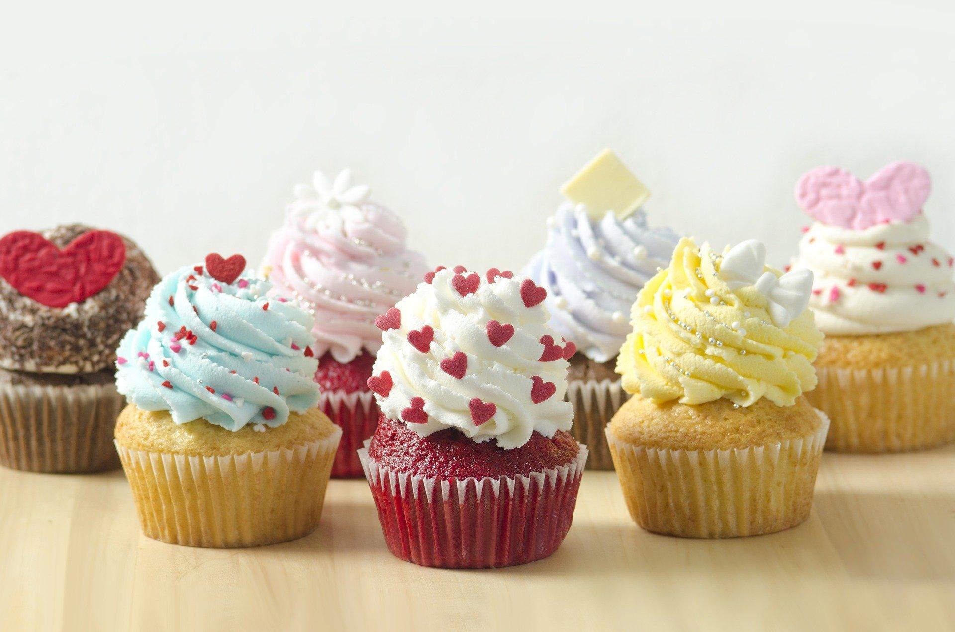 Las cupcakes son uno de los productos en pastelería más demandados