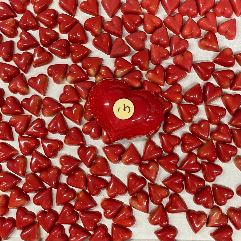 Oriol Balaguer también elabora sus bombones para San Valentín