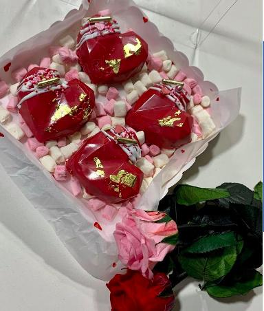 Corazoncitos de chocolate de Pastelería Sugar´s Nook