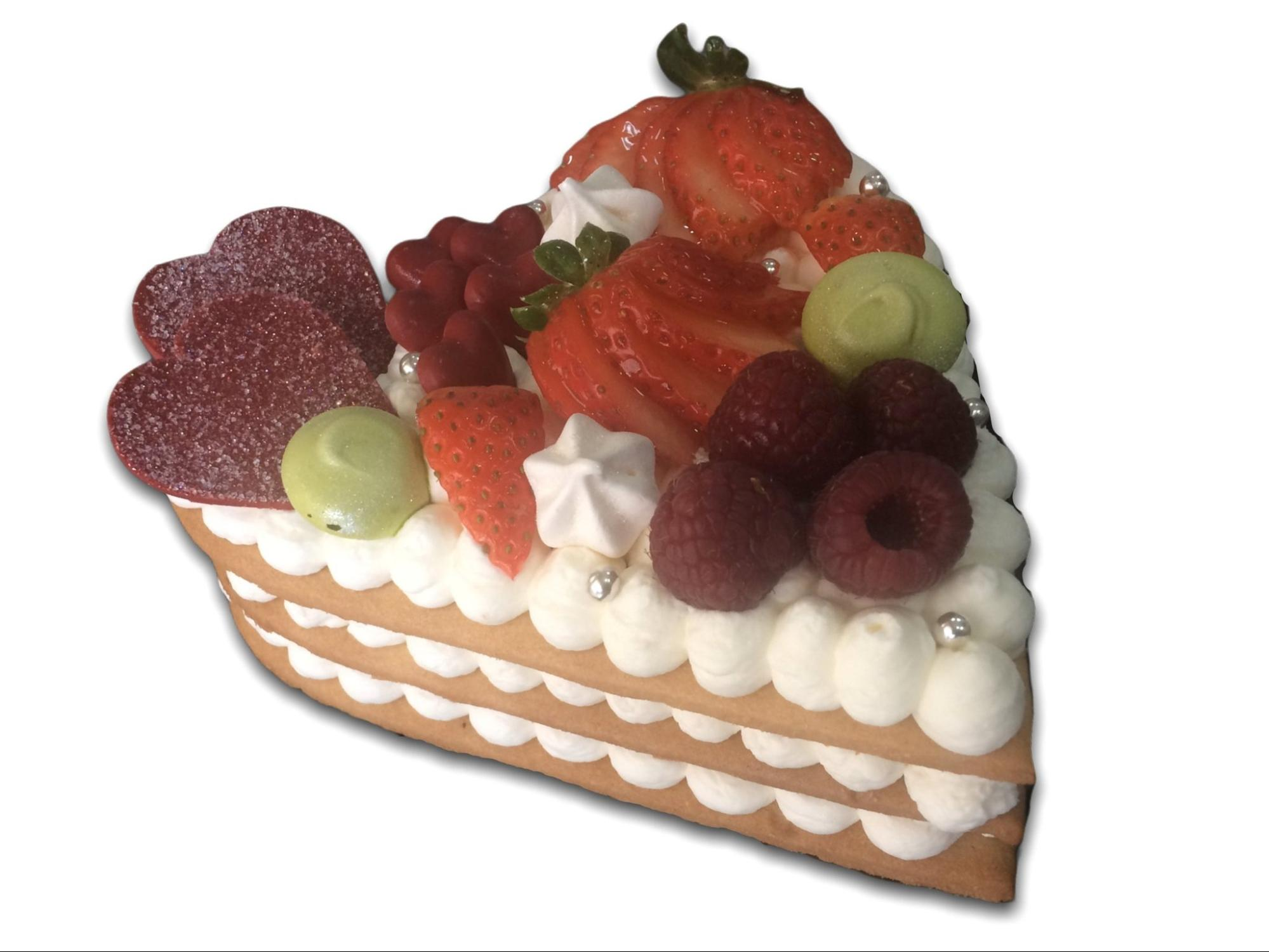 La tarta con forma de corazón de El Obrador de las Cositas Güenas