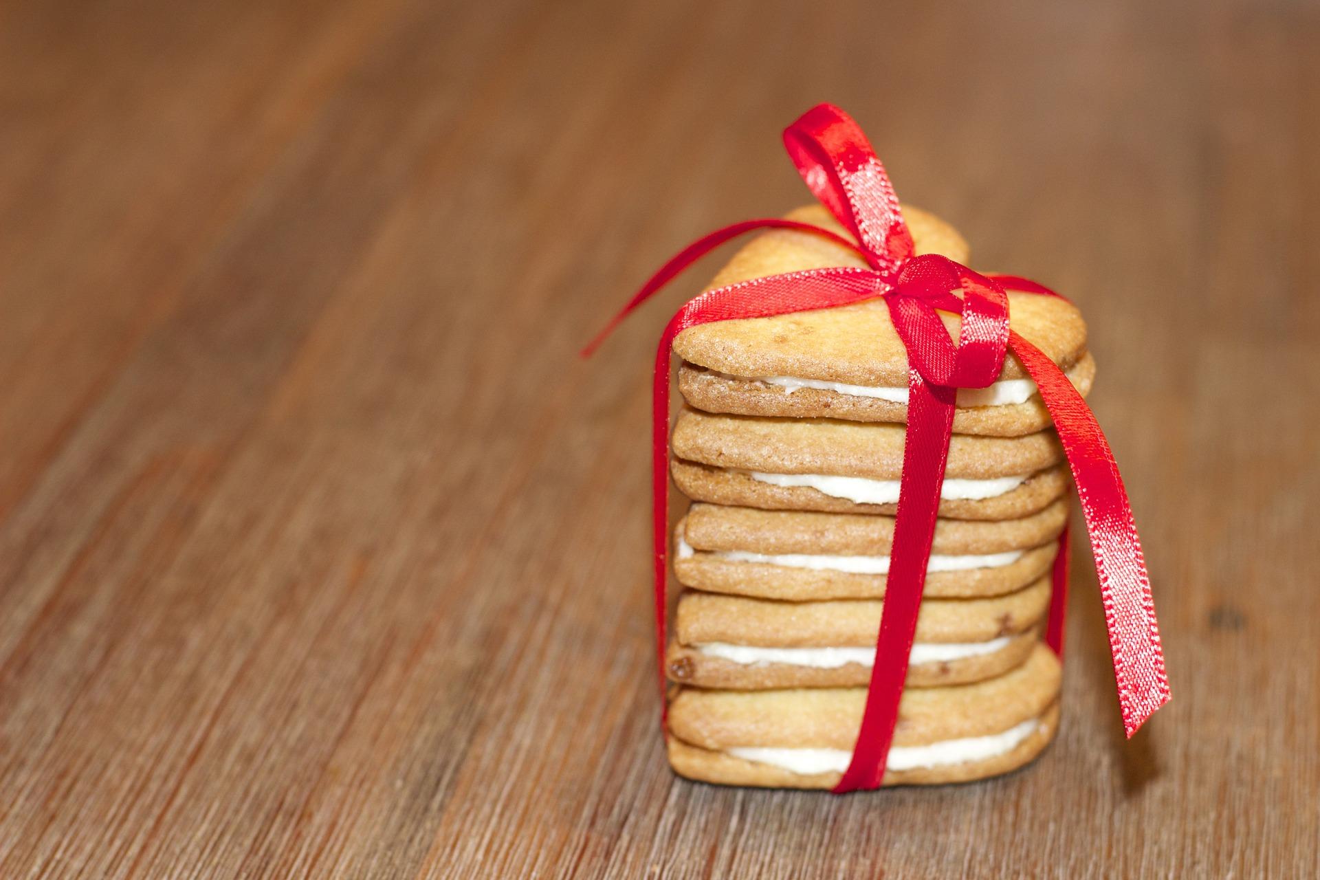 Las cookies de corazón también son una buena alternativa por San Valentín