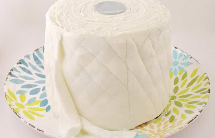 La tarta de papel higiénico pasará a la posteridad en la historia del coronavirus