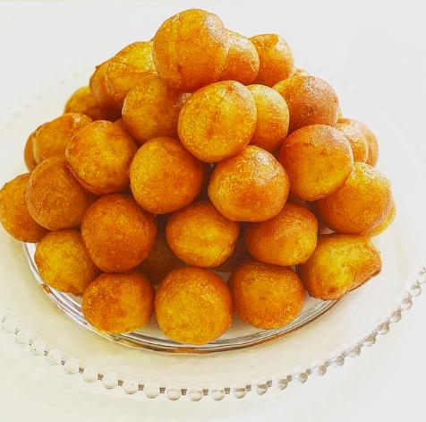 Buñuelos, dulces fritos típicos de la Cuaresma y de Todos los Santos
