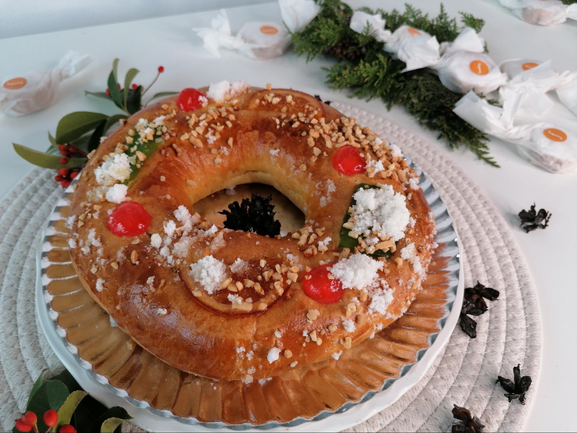 El Roscón de Reyes es uno de los dulces más tradicionales de nuestro país