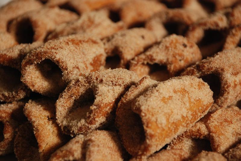 Pestiños, dulce típico andaluz de la Semana Santa