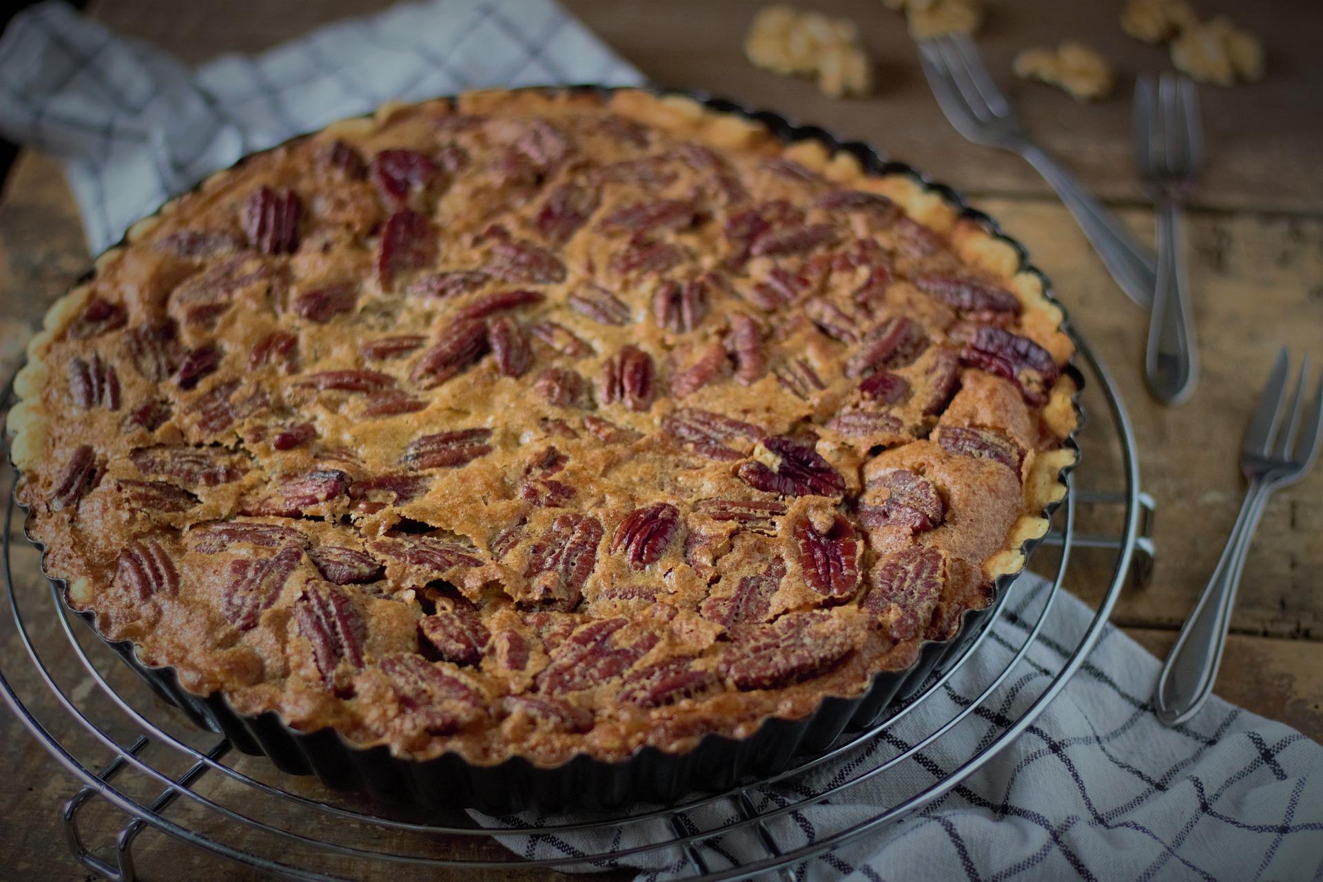 La tarta de nueces es una de las opciones más sanas en repostería