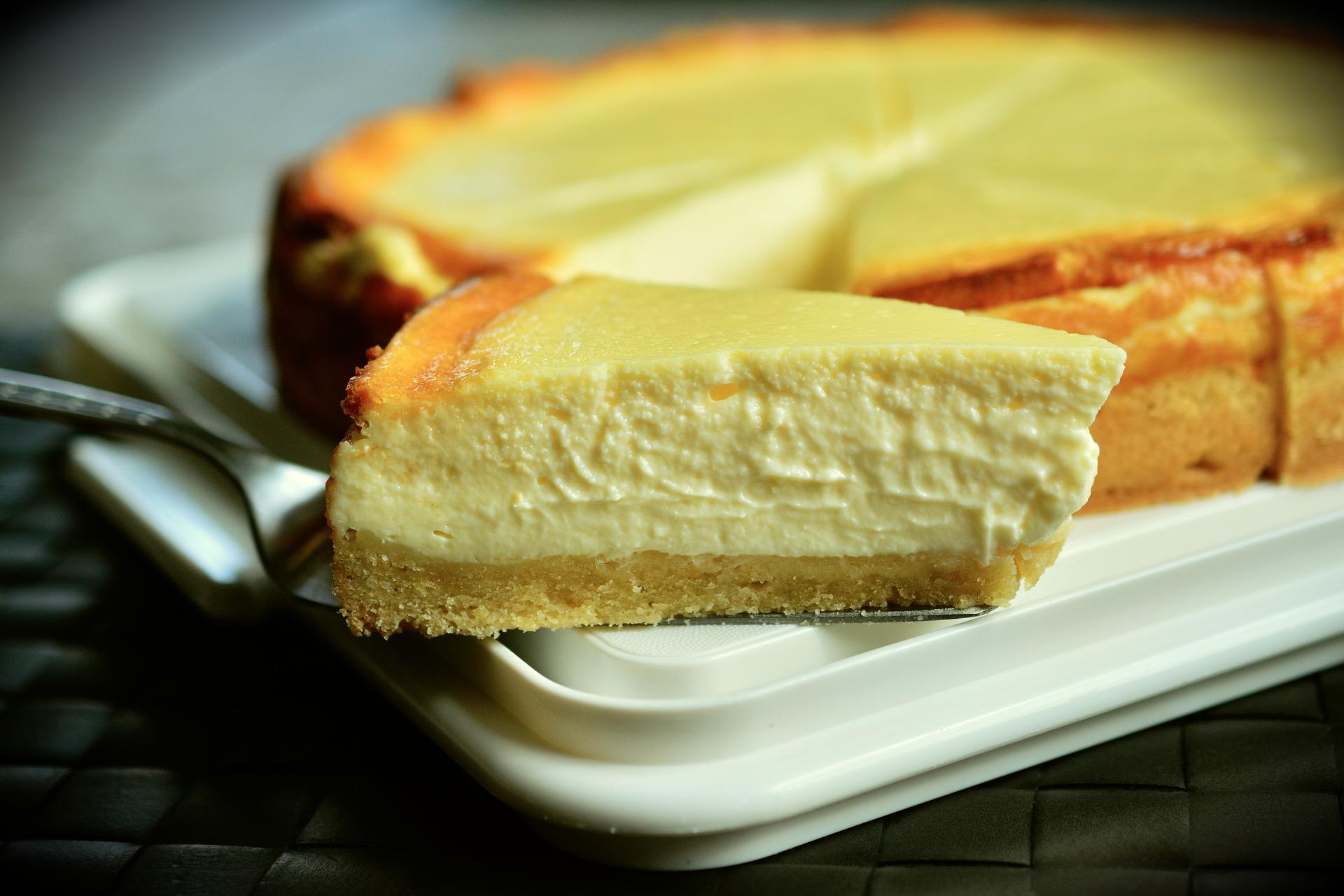 Cheesecake con galleta María, clásica receta de la tarta de queso