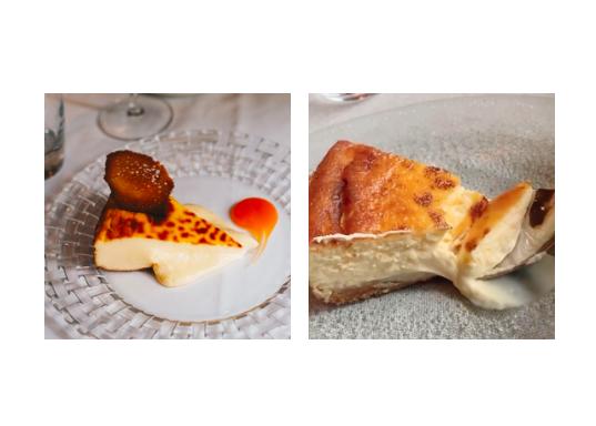 Cheesecake de Cañadío y de Carbón Negro, en Madrid