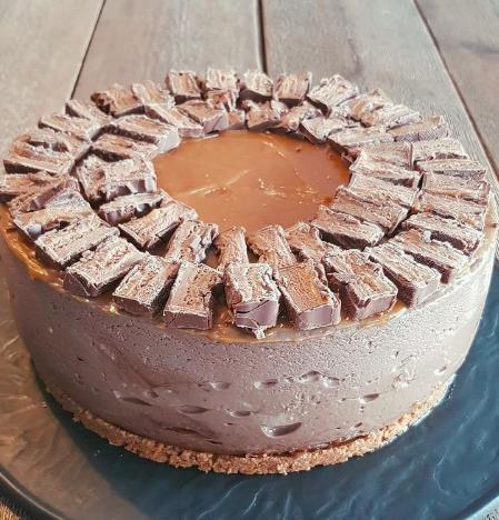 Tarta de queso con Nutella de Carrot Cake