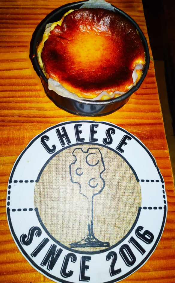 Tarta de queso de Cheese Bar, Las Palmas
