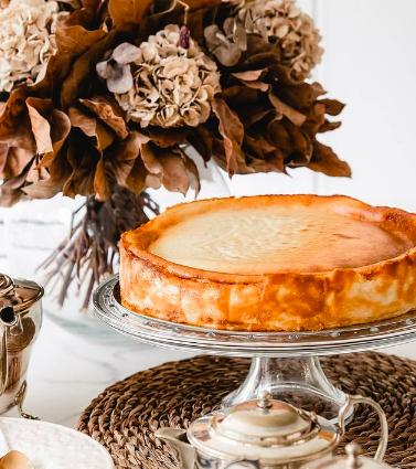 Tarta de queso del Norte, de Las Tartas de Zarina