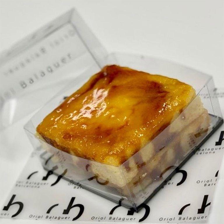La torrija de Oriol Balaguer, una de las más famosas de España