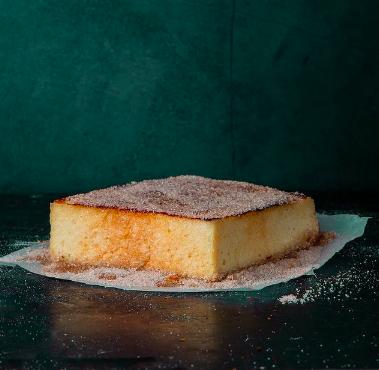 Torrija de pan brioche de Pastelería Panod