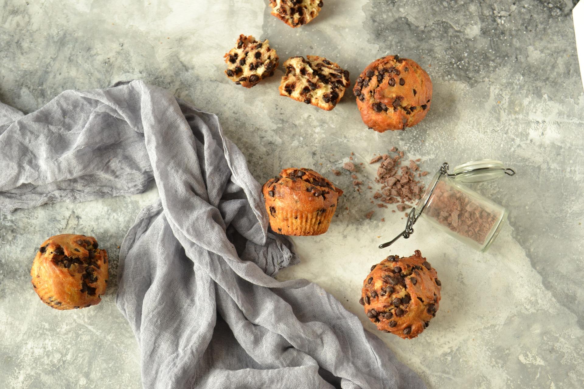 Muffins... o magdalenas, como las hemos conocido siempre en España