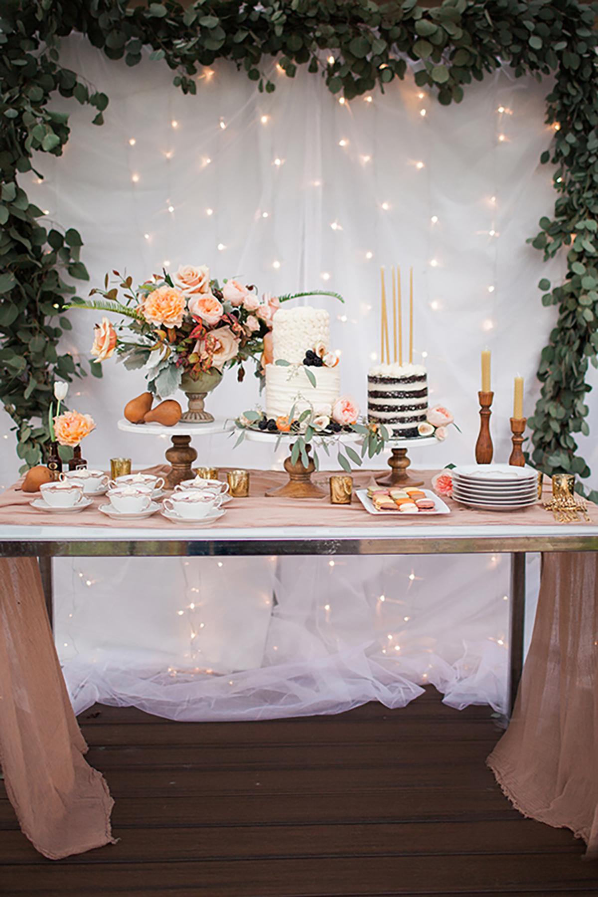 Las mesas dulces de comunión son otra opción muy elegida para estas celebraciones