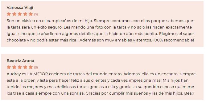 Pastelería Auxai, un referente en Madrid en tartas de comunión y de cumpleaños