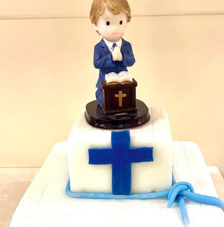Pastelería Pareli, en Madrid, también apuesta por las tartas de comunión