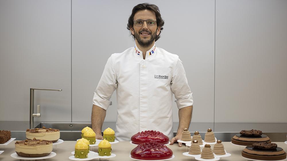 Jordi Bordas, pastelero y maestro de las nuevas generaciones que apuntan maneras en el sector