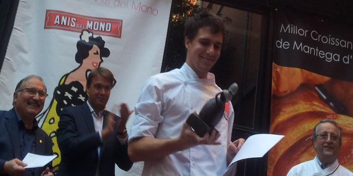 Miquel Guarro en 2013, en el momento de ganar el Trofeo Lluis Santapau