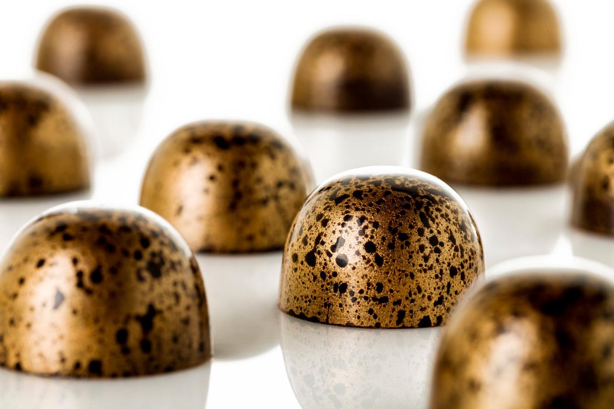 Chocolate Gianduja de avellanas y kikos, obra de Raúl Bernal